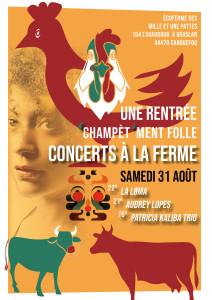 JPO AFFICHE concert