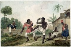 .Augustus_Earle_-_Negroes_fighting_-_1824_s