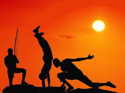 Capoeira couché de soleil