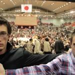au tournoi de sumo