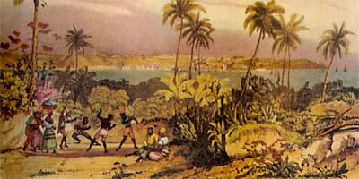 Jean_Baptiste_Debret_-_Capoeira_-_1834