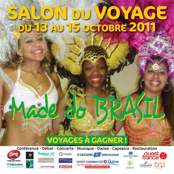 Salon du voyage du 13 au 15 octobre 2011 capoeira nantes for Salon voyage